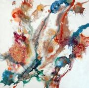 DETAIL  FLORIA  80 x 80 cm
